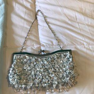 Sparkling evening bag